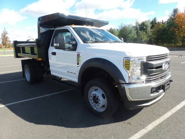 2019 F-550 Regular Cab DRW 4x4,  Rugby Eliminator LP Steel Dump Body #FU9126 - photo 4