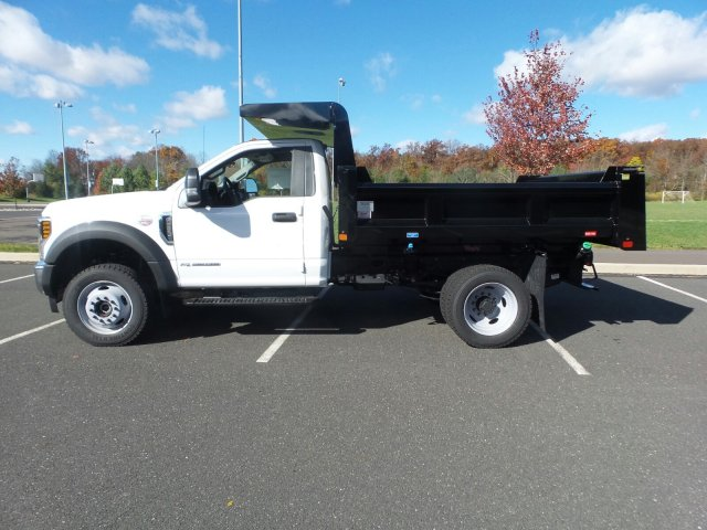 2019 F-550 Regular Cab DRW 4x4,  Rugby Eliminator LP Steel Dump Body #FU9126 - photo 8