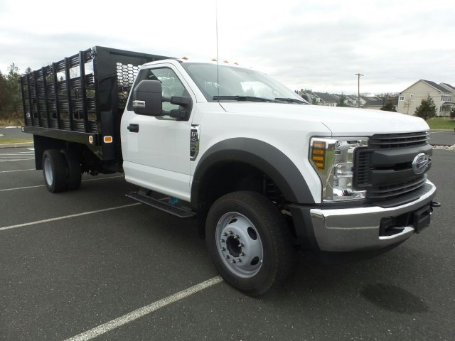 2019 F-450 Regular Cab DRW 4x2,  Knapheide Value-Master X Stake Bed #FU9127 - photo 4