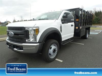 2019 F-450 Regular Cab DRW 4x2,  Knapheide Value-Master X Stake Bed #FU9127 - photo 1