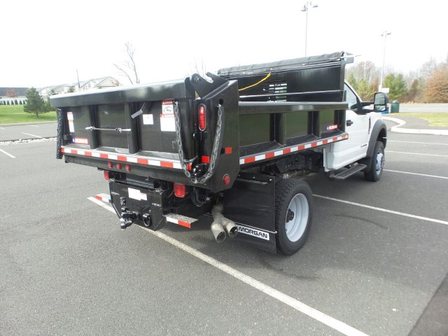2019 F-450 Regular Cab DRW 4x4,  Morgan Dump Body #FU9149 - photo 6