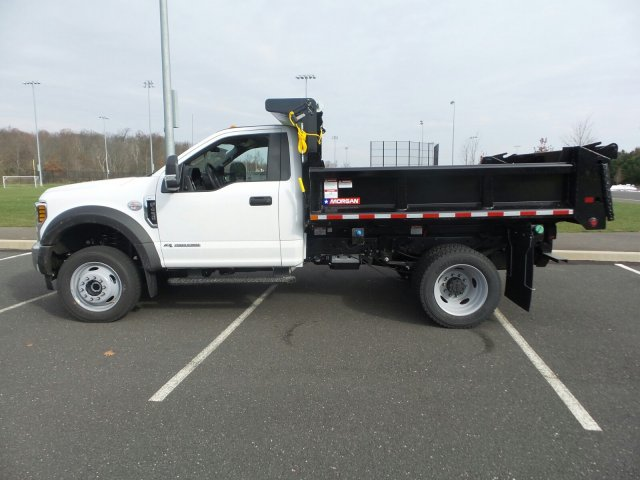 2019 F-450 Regular Cab DRW 4x4,  Morgan Dump Body #FU9149 - photo 8