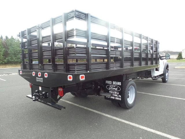2019 F-550 Regular Cab DRW 4x2,  Knapheide Stake Bed #FU9156 - photo 6