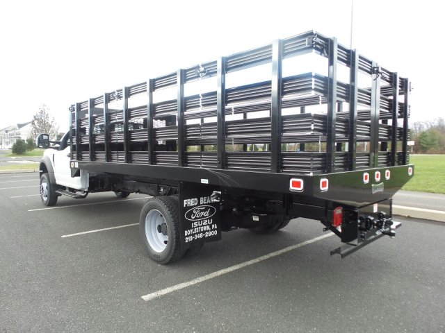 2019 F-550 Regular Cab DRW 4x2,  Knapheide Stake Bed #FU9156 - photo 2