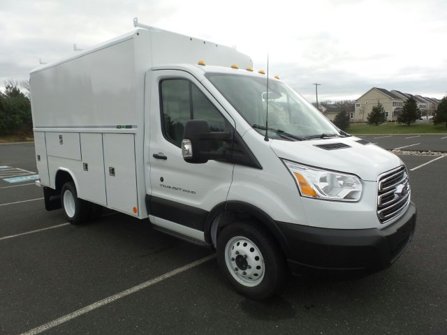 2019 Transit 350 HD DRW 4x2,  Reading Service Utility Van #FU9166 - photo 4