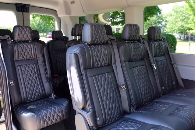 2019 Ford Transit 350 Med Roof 4x2, Passenger Wagon #FU9216 - photo 6