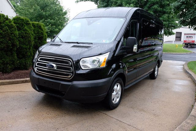 2019 Transit 350 Med Roof 4x2, Passenger Wagon #FU9226 - photo 9