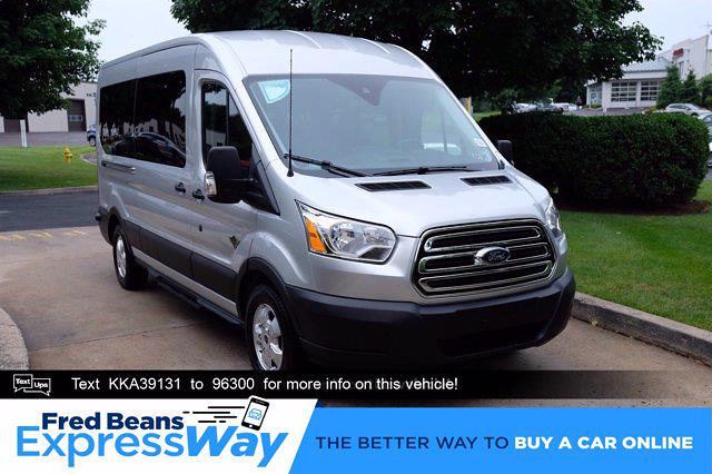 2019 Ford Transit 350 Med Roof RWD, Passenger Wagon #FU9227 - photo 1