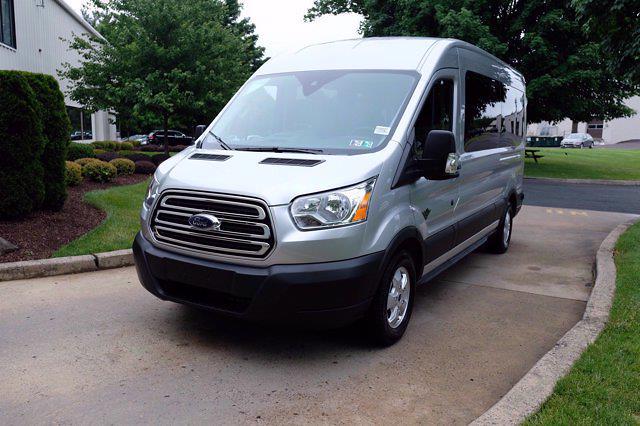 2019 Ford Transit 350 Med Roof RWD, Passenger Wagon #FU9227 - photo 10