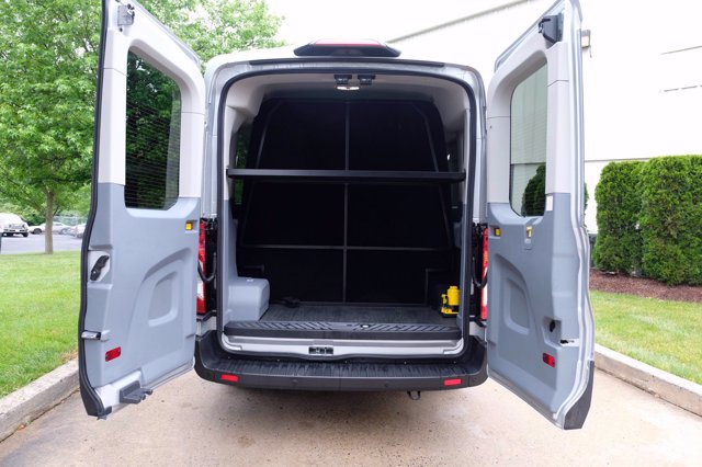2019 Ford Transit 350 Med Roof RWD, Passenger Wagon #FU9227 - photo 4