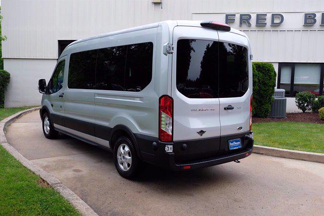 2019 Ford Transit 350 Med Roof 4x2, Passenger Wagon #FU9227 - photo 7