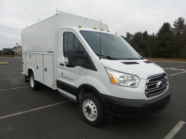 2019 Transit 350 HD DRW 4x2,  Reading Aluminum CSV Service Utility Van #FU9315 - photo 4