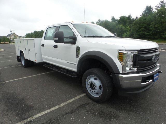 2019 F-450 Crew Cab DRW 4x4,  Reading Classic II Steel Service Body #FU9378 - photo 4