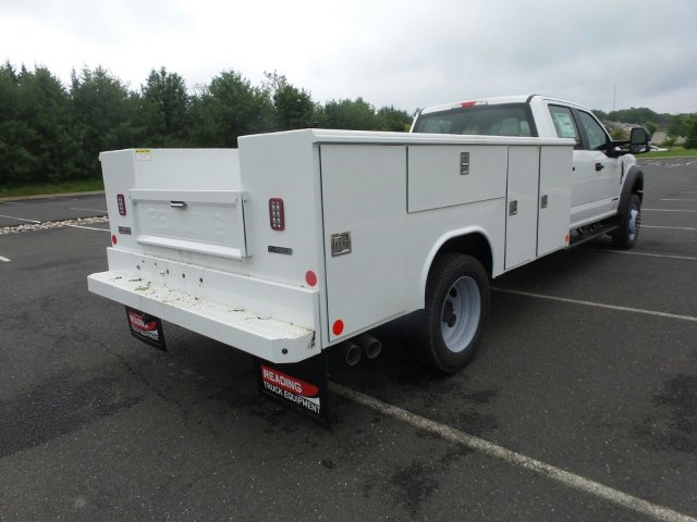 2019 F-450 Crew Cab DRW 4x4,  Reading Classic II Steel Service Body #FU9378 - photo 6