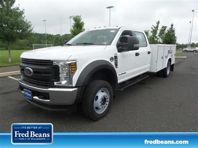 2019 F-450 Crew Cab DRW 4x4,  Reading Classic II Steel Service Body #FU9378 - photo 1