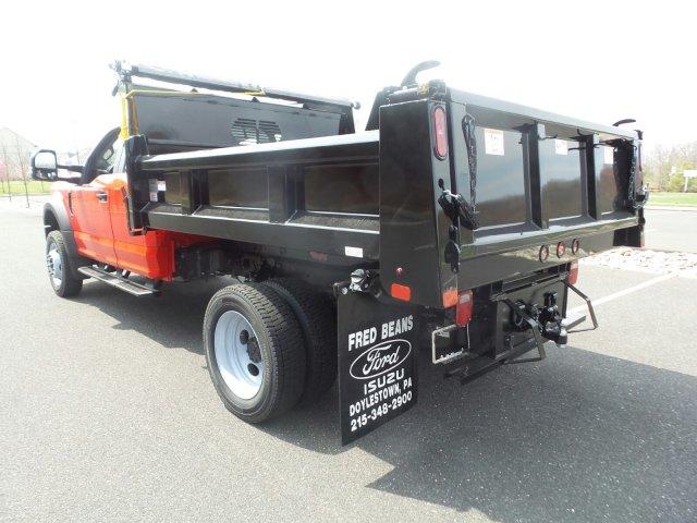 2019 F-550 Super Cab DRW 4x4,  Rugby Dump Body #FU9435 - photo 1