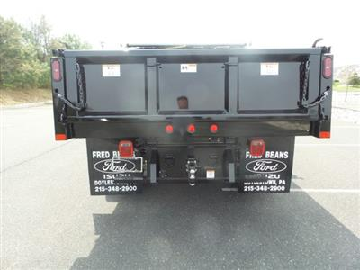 2019 F-550 Super Cab DRW 4x4, Rugby Eliminator LP Steel Dump Body #FU9435 - photo 7