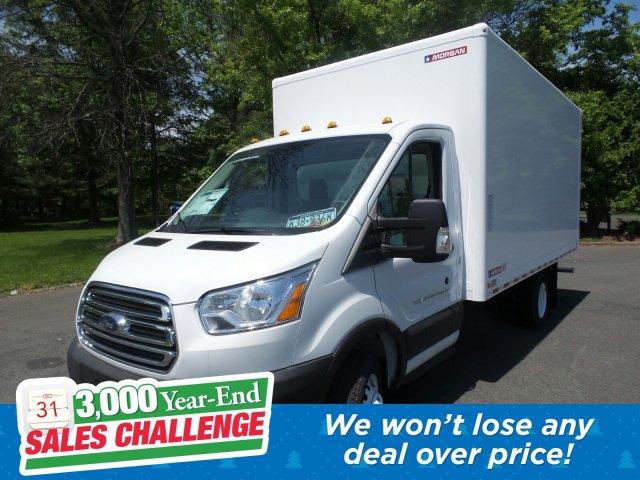 2019 Transit 350 HD DRW 4x2,  Morgan Cutaway Van #FU9455 - photo 1