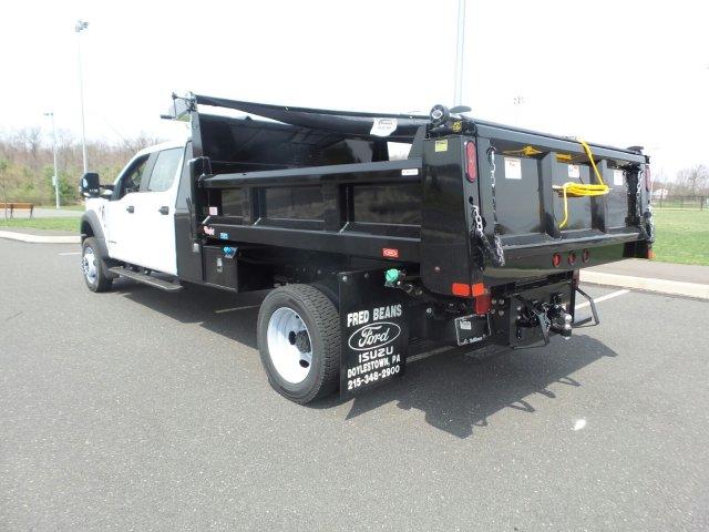 2019 F-550 Crew Cab DRW 4x4, Rugby Dump Body #FU9458 - photo 1