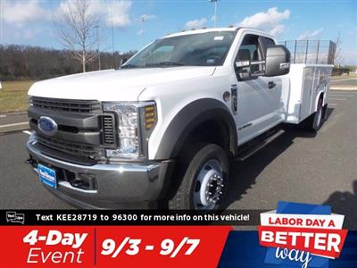 2019 F-450 Super Cab DRW 4x4,  Reading Classic II Steel Service Body #FU9471 - photo 1