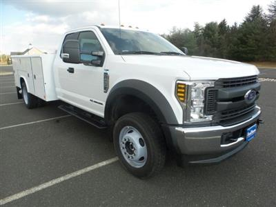 2019 F-450 Super Cab DRW 4x4,  Reading Classic II Steel Service Body #FU9471 - photo 4