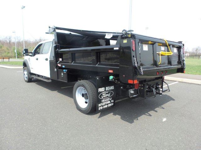 2019 F-550 Crew Cab DRW 4x4,  Rugby Eliminator LP Steel Dump Body #FU9476 - photo 2