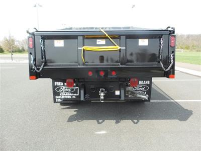 2019 F-550 Crew Cab DRW 4x4,  Rugby Eliminator LP Steel Dump Body #FU9476 - photo 7