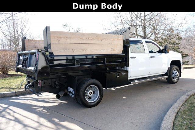 2018 Silverado 3500 Crew Cab DRW 4x4, Dump Body #FU94761 - photo 2