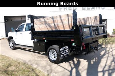2018 Silverado 3500 Crew Cab DRW 4x4, Dump Body #FU94761 - photo 11