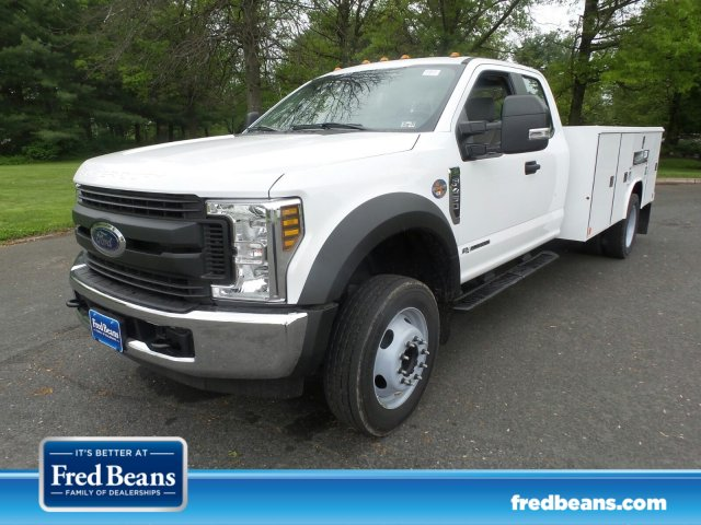 2019 F-450 Super Cab DRW 4x2,  Reading Classic II Steel Service Body #FU9519 - photo 1