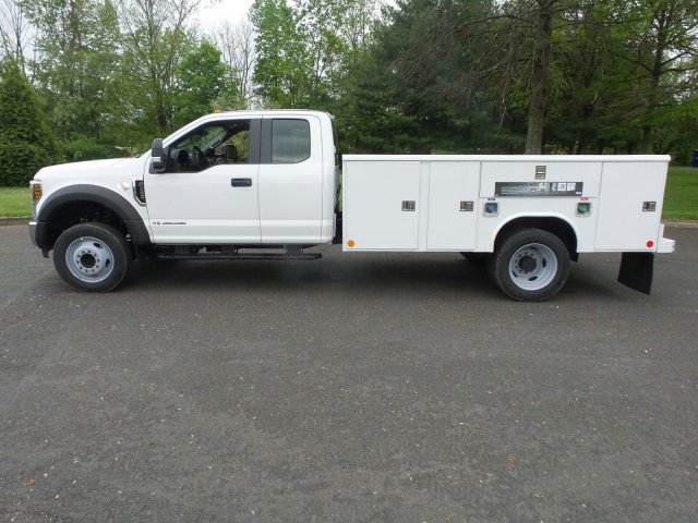 2019 F-450 Super Cab DRW 4x2,  Reading Classic II Steel Service Body #FU9519 - photo 8