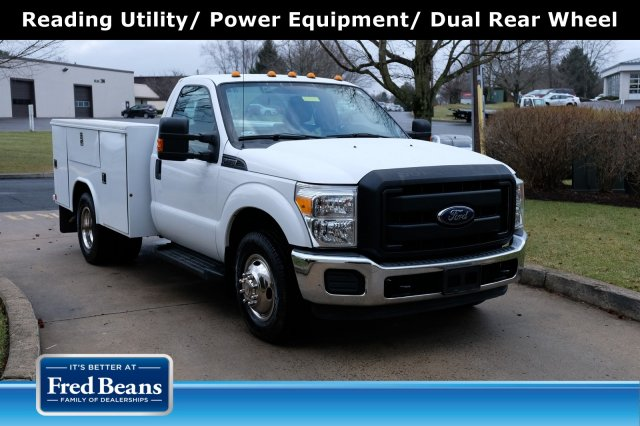 2014 F-350 Regular Cab DRW 4x2, Reading Service Body #FU95411 - photo 1