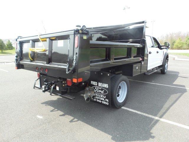 2019 F-550 Crew Cab DRW 4x4,  Rugby Dump Body #FU9638 - photo 1