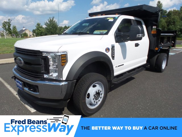 2019 F-550 Super Cab DRW 4x4, Rugby Eliminator LP Steel Dump Body #FU9712 - photo 1