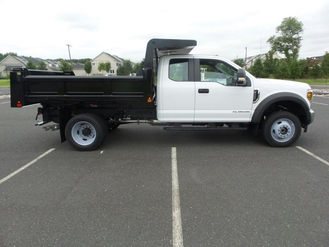 2019 F-550 Super Cab DRW 4x4, Rugby Eliminator LP Steel Dump Body #FU9749 - photo 5