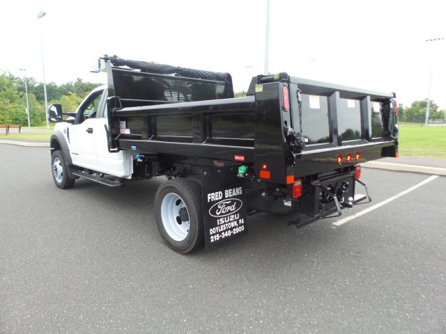 2019 F-550 Super Cab DRW 4x4, Rugby Eliminator LP Steel Dump Body #FU9749 - photo 2