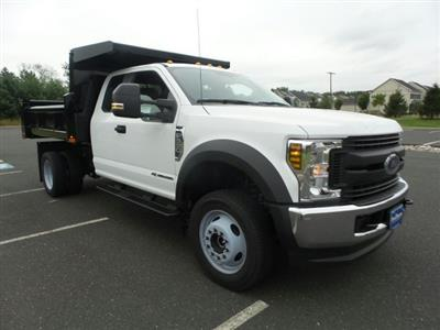2019 F-550 Super Cab DRW 4x4, Rugby Eliminator LP Steel Dump Body #FU9749 - photo 4