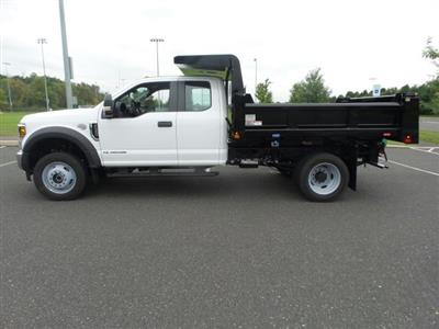 2019 F-550 Super Cab DRW 4x4, Rugby Eliminator LP Steel Dump Body #FU9749 - photo 8