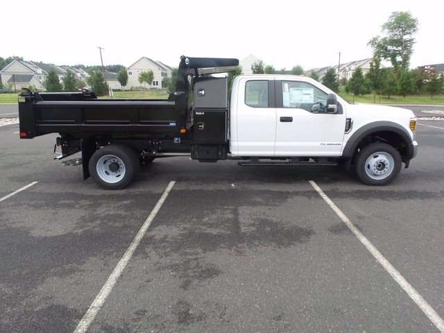2019 Ford F-550 Super Cab DRW 4x4, Rugby Eliminator LP Steel Dump Body #FU9752 - photo 4