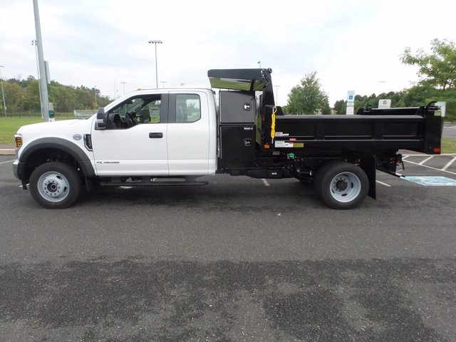 2019 Ford F-550 Super Cab DRW 4x4, Rugby Eliminator LP Steel Dump Body #FU9752 - photo 7