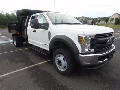 2019 Ford F-550 Super Cab DRW 4x4, Rugby Eliminator LP Steel Dump Body #FU9752 - photo 1