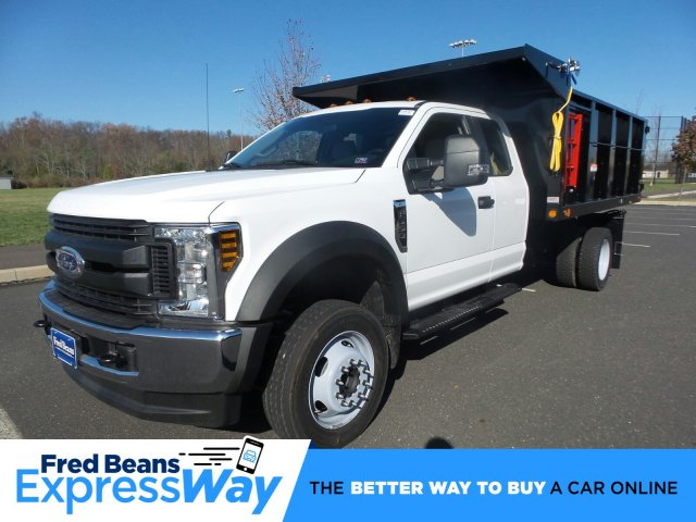 2019 F-550 Super Cab DRW 4x4, Landscape Dump #FU9787 - photo 1