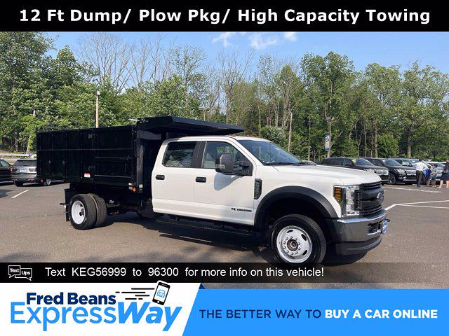 2019 F-550 Crew Cab DRW 4x4, Reading Landscaper SL Landscape Dump #FU9834 - photo 1