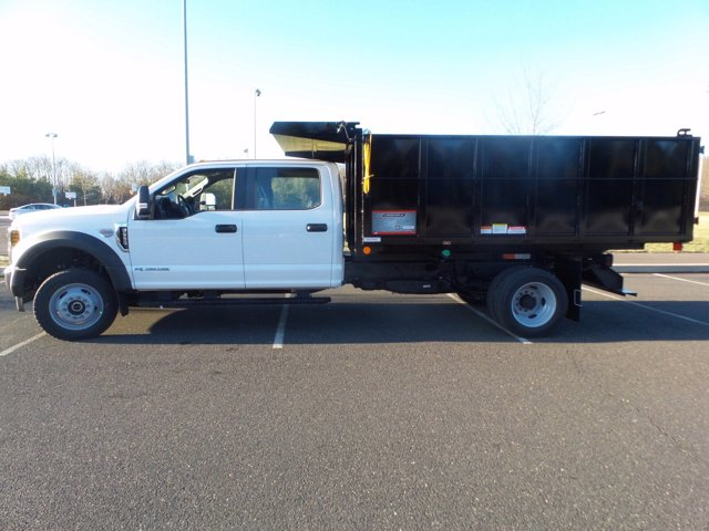 2019 Ford F-550 Crew Cab DRW 4x4, Reading Landscaper SL Landscape Dump #FU9842 - photo 8