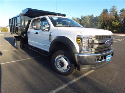 2019 Ford F-550 Crew Cab DRW 4x4, Reading Landscaper SL Landscape Dump #FU9842 - photo 4