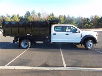 2019 Ford F-550 Crew Cab DRW 4x4, Reading Landscaper SL Landscape Dump #FU9842 - photo 5
