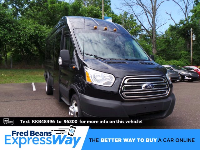 2019 Ford Transit 350 HD High Roof DRW RWD, Passenger Wagon #FU9857 - photo 1