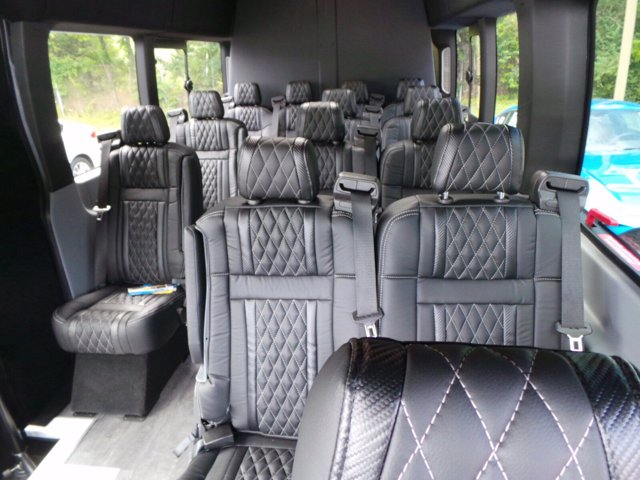 2019 Ford Transit 350 HD High Roof DRW RWD, Passenger Wagon #FU9857 - photo 2