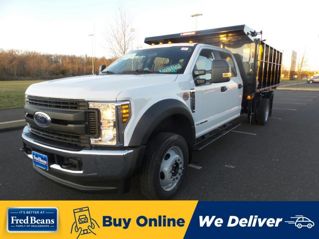 2019 F-550 Crew Cab DRW 4x4, Morgan Landscape Dump #FU9875 - photo 1