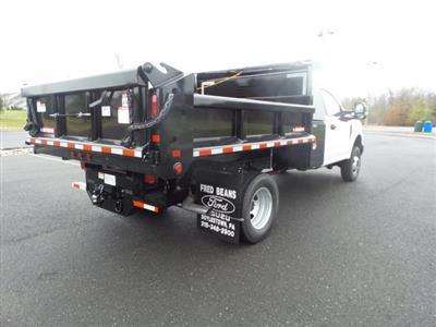 2019 F-350 Regular Cab DRW 4x4, Morgan Dump Body #FU9877 - photo 6